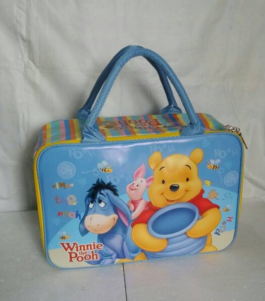 harga Tas travel koper /travel bag kanvas winnie the pooh saten premium Tokopedia.com