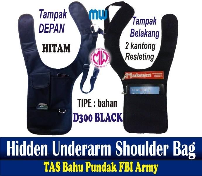 Foto Produk Tas gadget pundak bahu army polisi FBI agen 007 bag organizer dari Produsen bag organizerMW