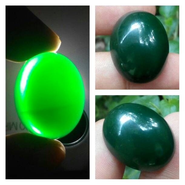 harga Batu akik hijau garut ohen Tokopedia.com