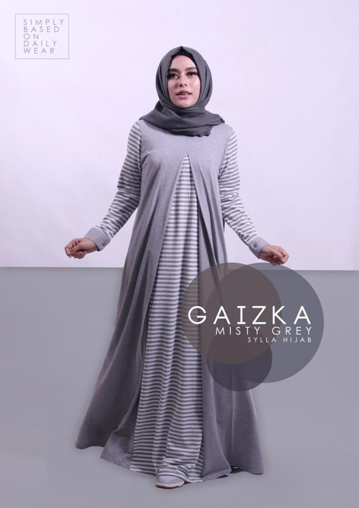 Jual Dress Formal Elegan Wanita Dewasa Sylla Hijab Gaizka Baju Pesta