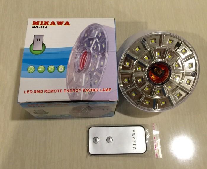 harga Lampu led mikawa emergency + remote control on/off (nyala putih) Tokopedia.com