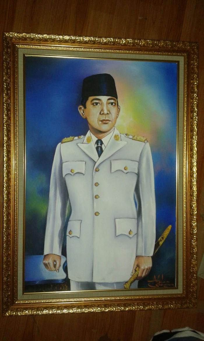 Jual Lukisan Bung Karno Kota Bandung Jelekong Art