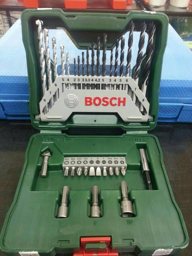 harga Drill & screwdriver bit set 33 pcs bosch / bor & mata obeng set Tokopedia.com