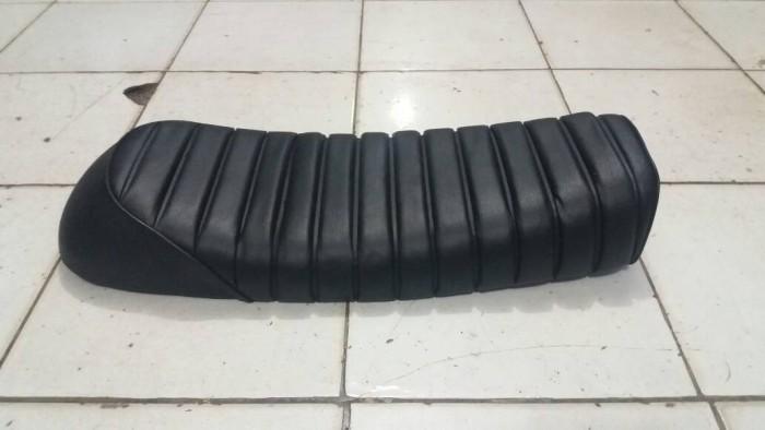 harga Jok custom japstyle hitam panjang (polos) Tokopedia.com