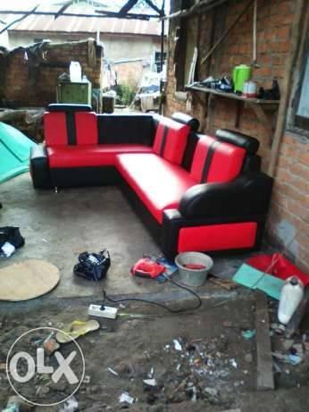 Jual Sofa Merah Hitam L Kota Palembang Matrix Mebel Tokopedia