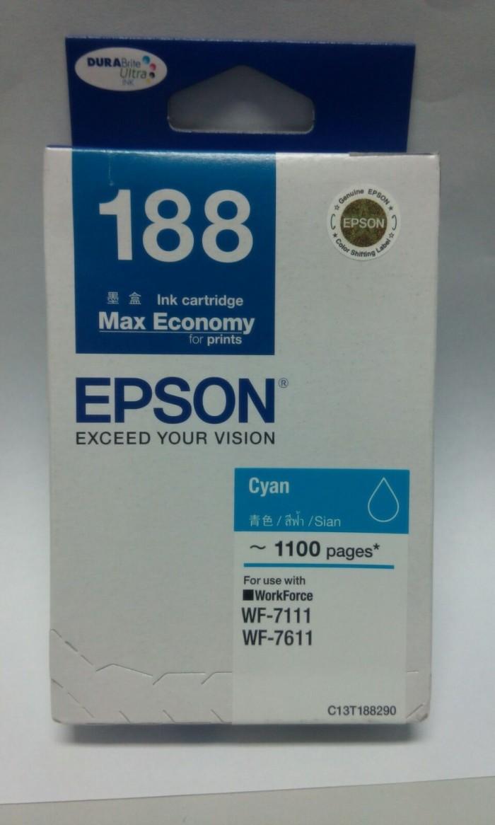 Tinta Epson T188 - cyan (WF-7111 dan WF-7611)