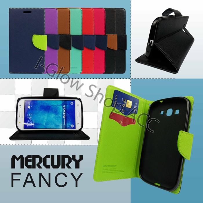 Mercury Goospery Fancy Diary Leather Case Flip Cover Casing