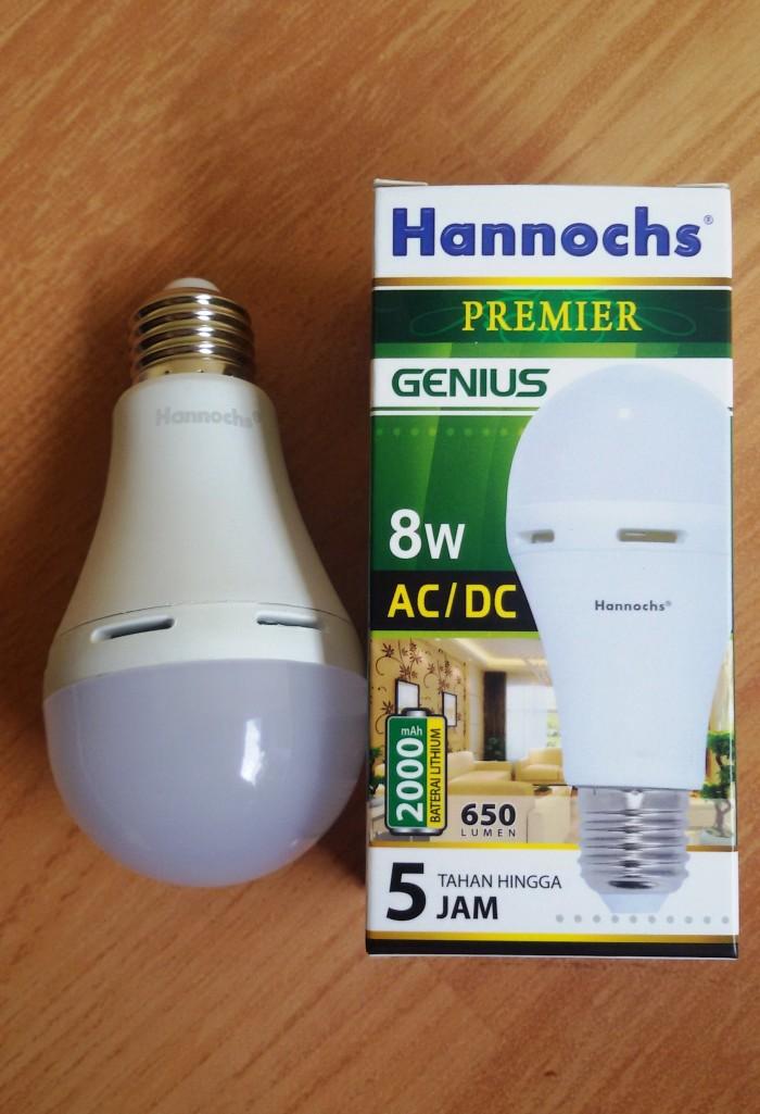 Jual Lampu Led Ac Dc Hannochs 8 Watt Lampu Emergency Paling Praktis