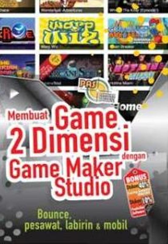 harga Pas : membuat game 2 dimensi dengan game maker studio Tokopedia.com