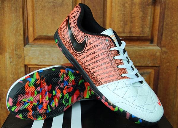 best service 8a302 3869f Nike Lunar Gato II Coklat Putih KW Super (Futsal-Soccer-Bola-Foot Ball