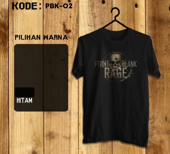 harga Kaos Game - Pbk-02 Game Point Blank #pointblank Tokopedia.com