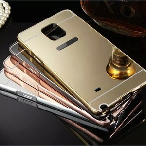 harga Galaxy note 4 aluminum bumper mirror hard back case Tokopedia.com