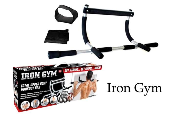 harga Iron gym alat fitness portable Tokopedia.com