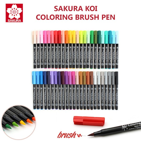 Jual Sakura Koi Coloring Brush Pen - Kota Surabaya - Lix Art Supplies ...