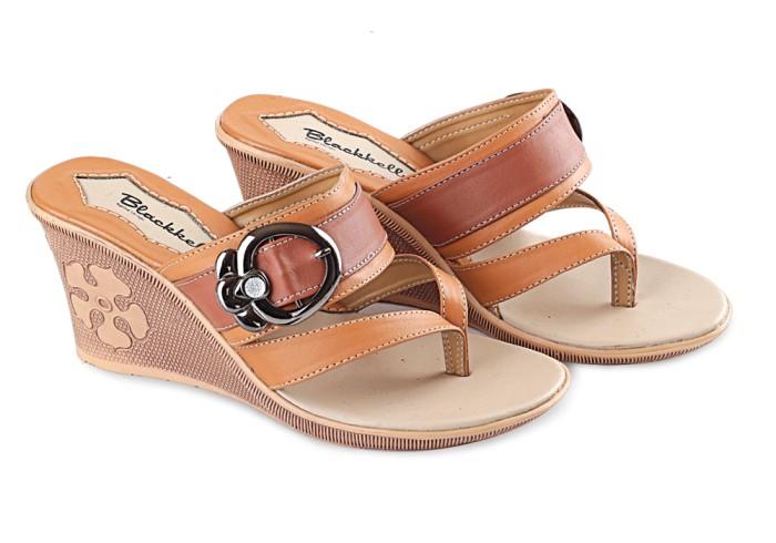 harga Sandal wedges wanita sandal pesta hak tinggi perempuan b-lcu239 Tokopedia.com