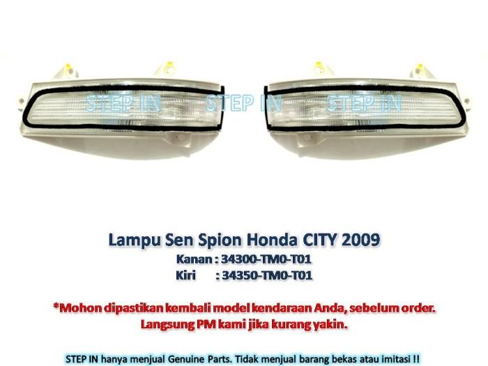harga Sen lampu spion kanan/kiri honda city 2009 genuine part asli sein saja Tokopedia.com