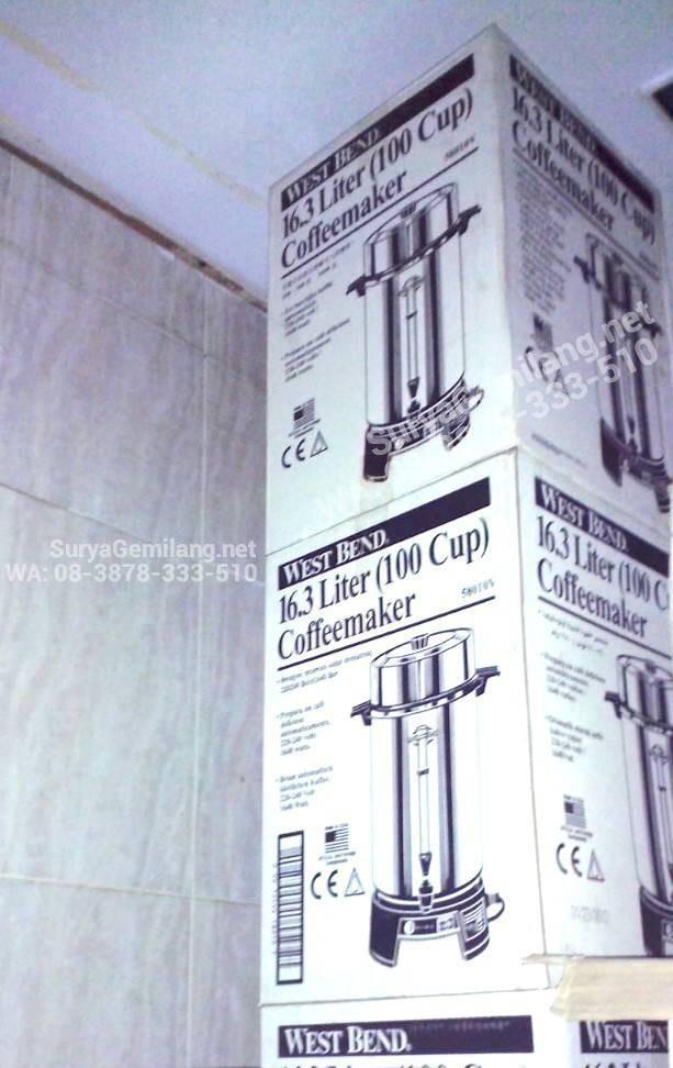 Jual Water Tank West Bend Coffee Maker 100 Cup Amerika Asli dan Baru - DKI  Jakarta - Surya Gemilang Toko | Tokopedia