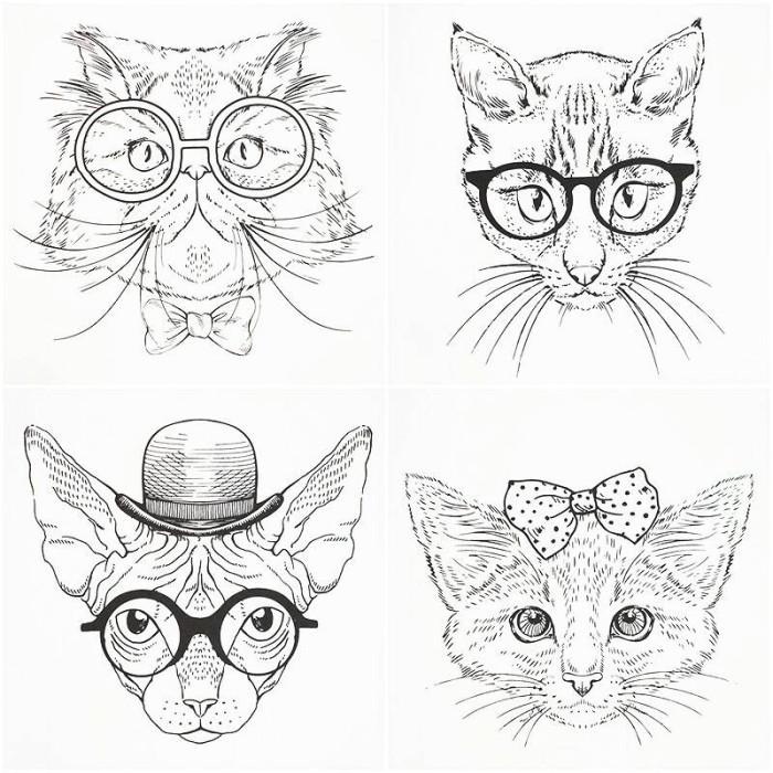 Jual Korean Fashionable Cat Coloring Book Kota Tangerang Selatan The Eymhouse Tokopedia