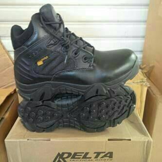 Sepatu Delta Force 6 inci Hitam