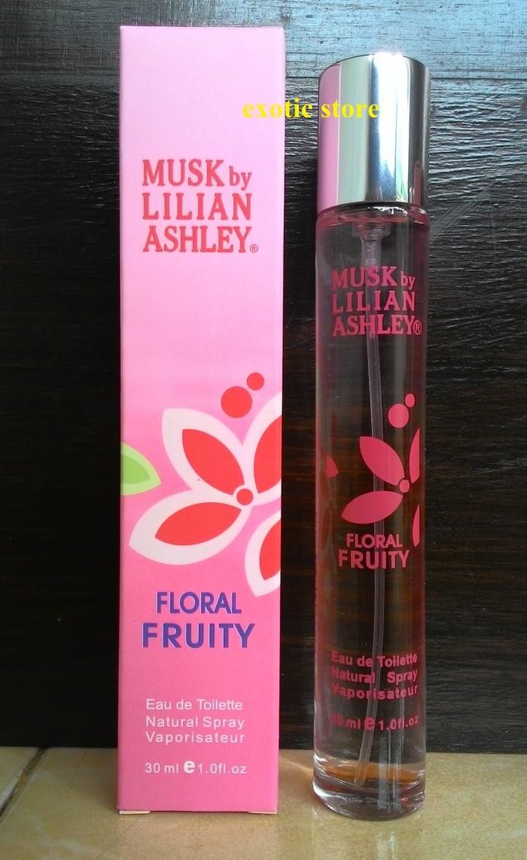Jual Parfum Musk By Lilian Ashley 30ml Floral Fruity Kota Surabaya