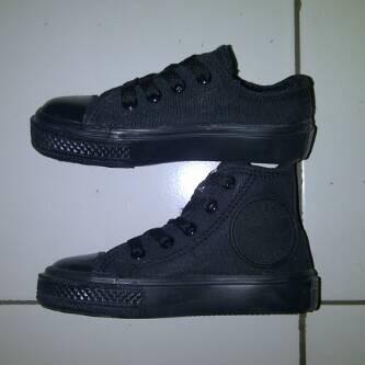 Jual sepatu anak converse hitam full - kotak SEPATUqu MURAH  1c054d7da3