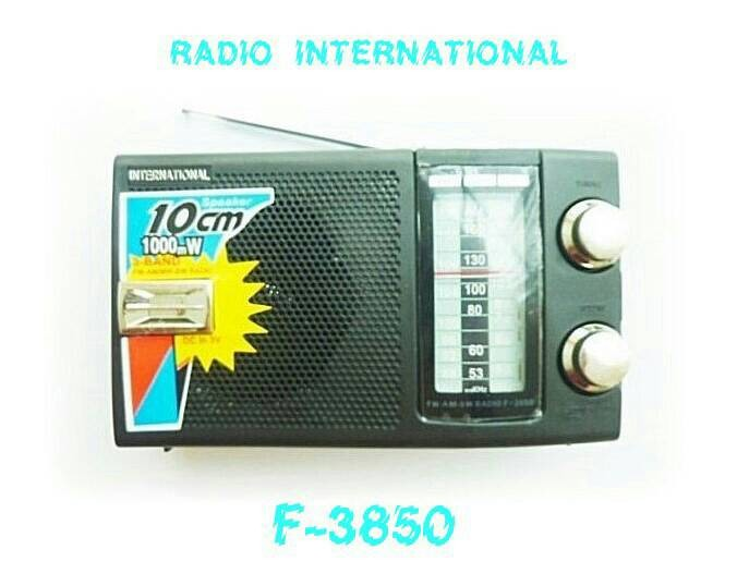harga Radio portable international f - 3850 jadul antik Tokopedia.com