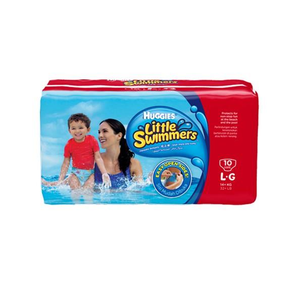 harga Huggies little swimmer diaper - size l - isi 10 pcs Tokopedia.com