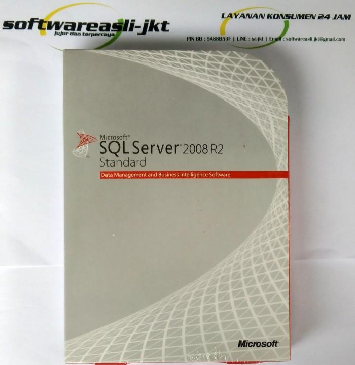 harga [original] sql server standard 2008 r2 full package Tokopedia.com
