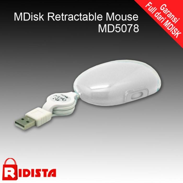 Mdisk retractable mouse md5078 harga Mdisk retractable mouse md5078 Tokopedia.com