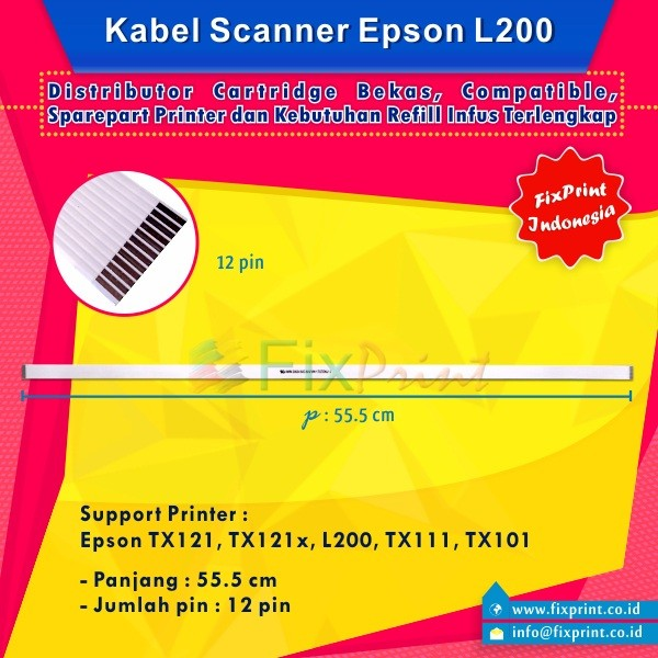 Jual Kabel Scanner L200/Tx121 - Kota Surabaya - FixPrint Store | Tokopedia