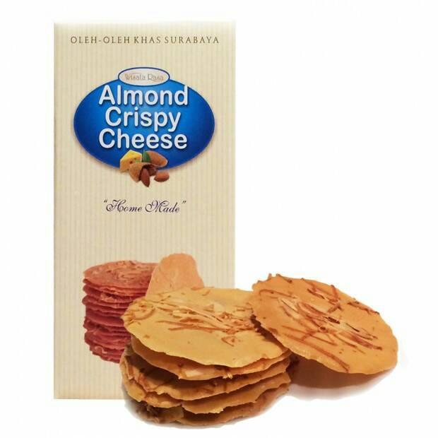 Jual Almond Crispy Cheese Wisata Rasa Kota Surabaya Mix Cart Tokopedia