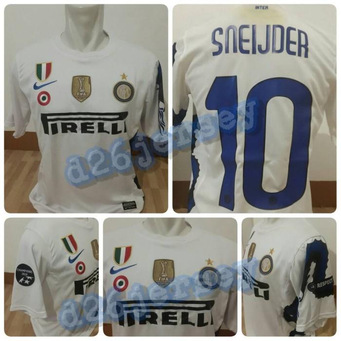 wholesale dealer dfe6e 7a9d8 Jual Jersey RETRO Inter Milan Away 2011 (Dragon) + Cetak Nama + Full Patch  - DKI Jakarta - D26Jersey | Tokopedia