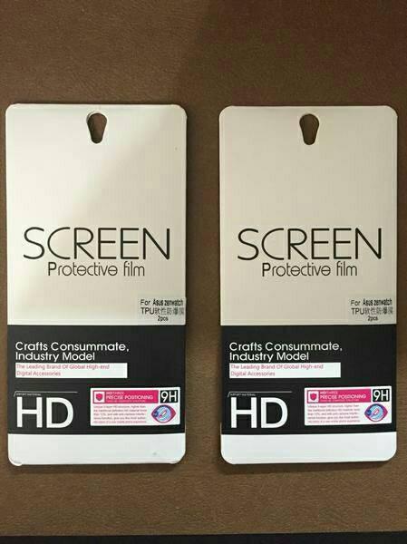 harga Asus zenwatch 1 or 2 screen protector/protector film 1.63 Tokopedia.com