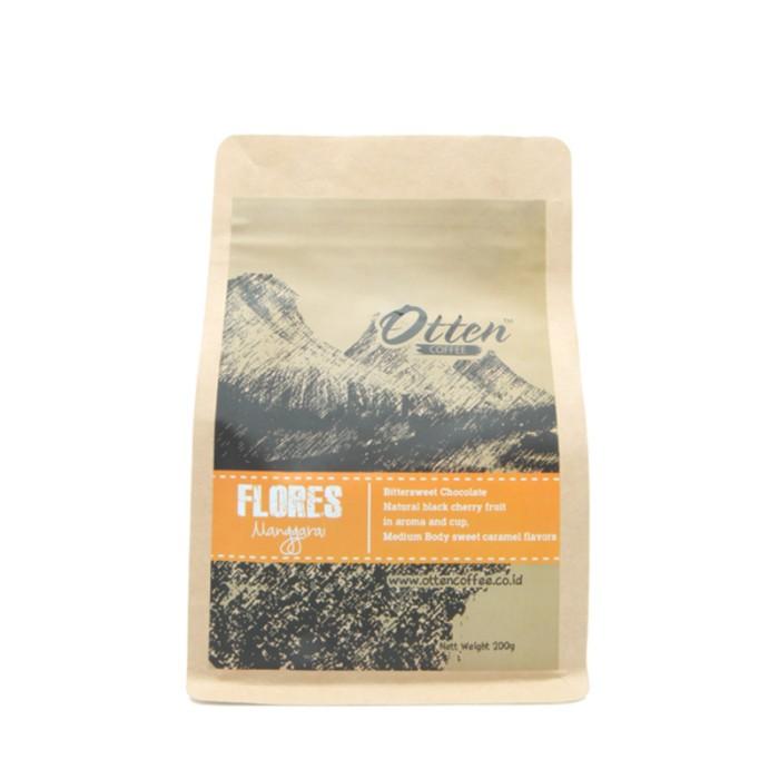 otten coffee arabica flores  manggarai  200g