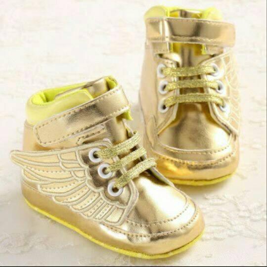 harga Sepatu prewalker guess gold wing Tokopedia.com