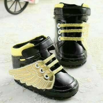 harga Sepatu prewalker bayi laki-laki import guess semiboot black gold wing Tokopedia.com