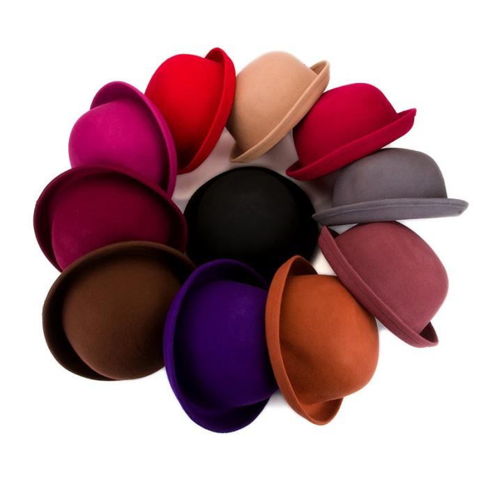 2d5fbe3825f Topi dewasa caplin bowler hat import premium ...