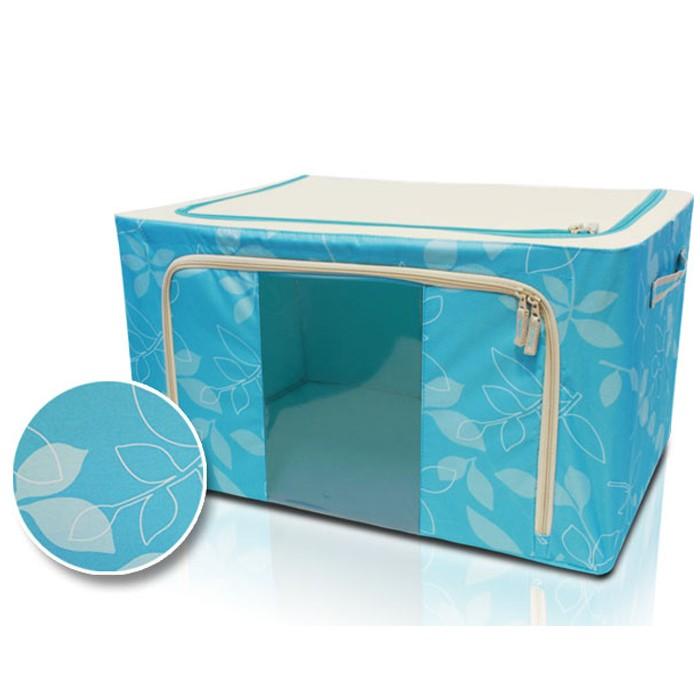 harga Wa2870-2 - storage box kain bunga 66l (60 x 40 x 28 cm) Tokopedia.com