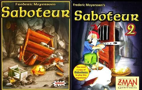 harga Saboteur 1+2 card game (original) Tokopedia.com