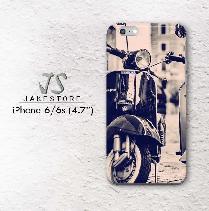 harga Vespa scooter iphone case classic 4 4s 5 5s 5c 6 6s plus hardcase Tokopedia.com