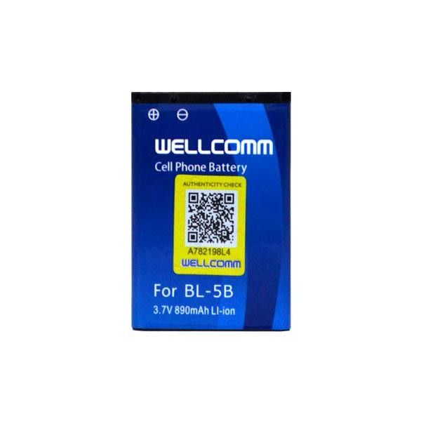 Wellcomm Battery Double Ic Bl 5b