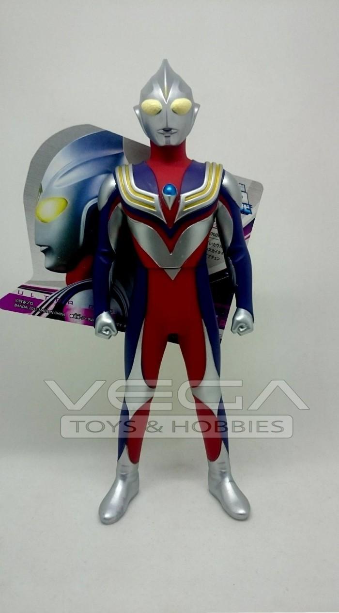 Bandai Ultra Big Soft Vinyl Ultraman Tiga Daftar Harga Terbaru Dan Sofvi Victory 0483398
