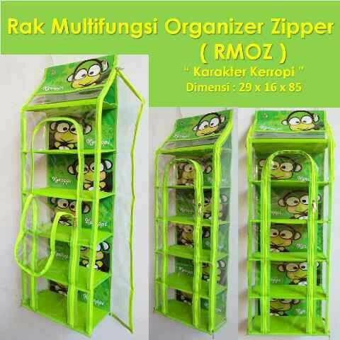 Rak multifungsi organizer zipper (rmoz)