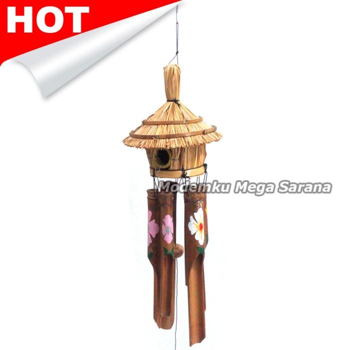 harga Klontong | kelontong bambu sangkar burung 50x18x18 cm Tokopedia.com