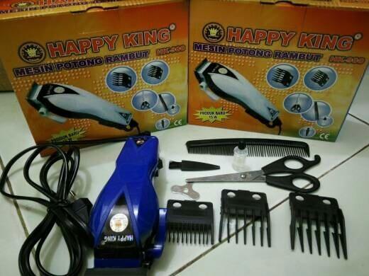Alat Mesin Listrik cukur rambut terbaik happy king - Alat permudah mencukur  rambut. Source · alat cukur rambut happy king alat cukur bulu kumis jenggot 3d68e84415