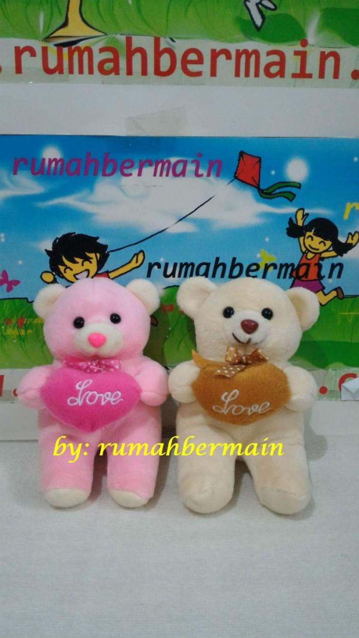 harga Boneka beruang bear (love 18cm) hadiah kado valentine souvenir cute Tokopedia.com