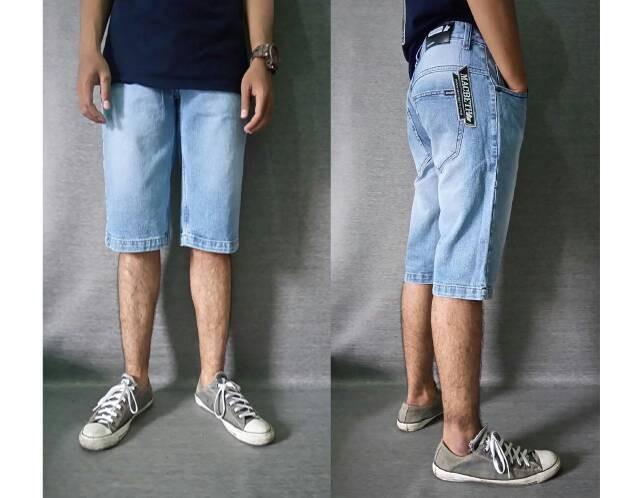 harga Jeans pendek bioblits washing macbeth Tokopedia.com