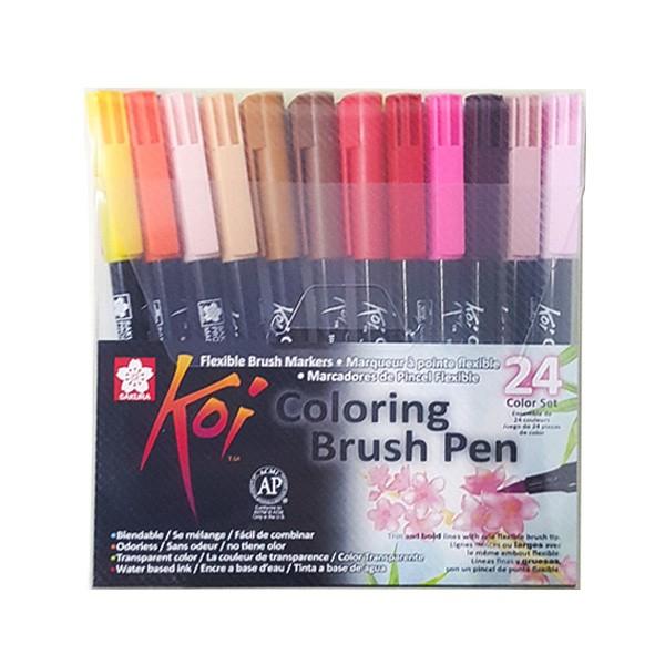 harga Sakura koi coloring brush pen - 24 color set Tokopedia.com