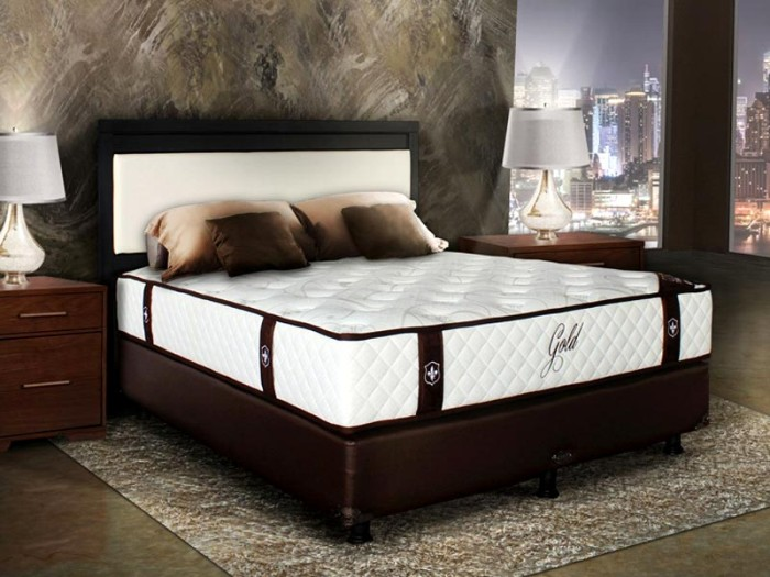 Central New Gold Maestro - Spring Bed - Ukuran 160 x 200 cm