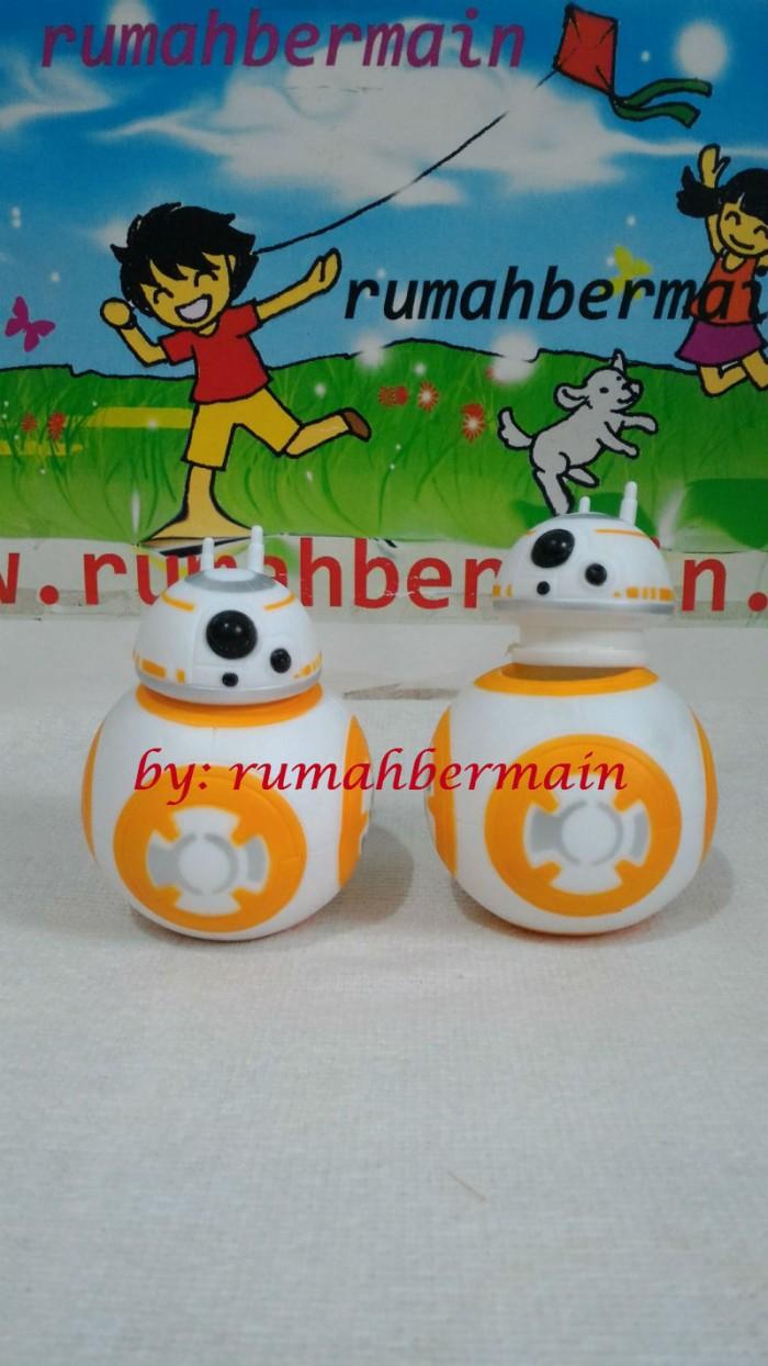 harga Miniatur pajangan mainan bb8 beebee-ate star wars toy droid sphero Tokopedia.com